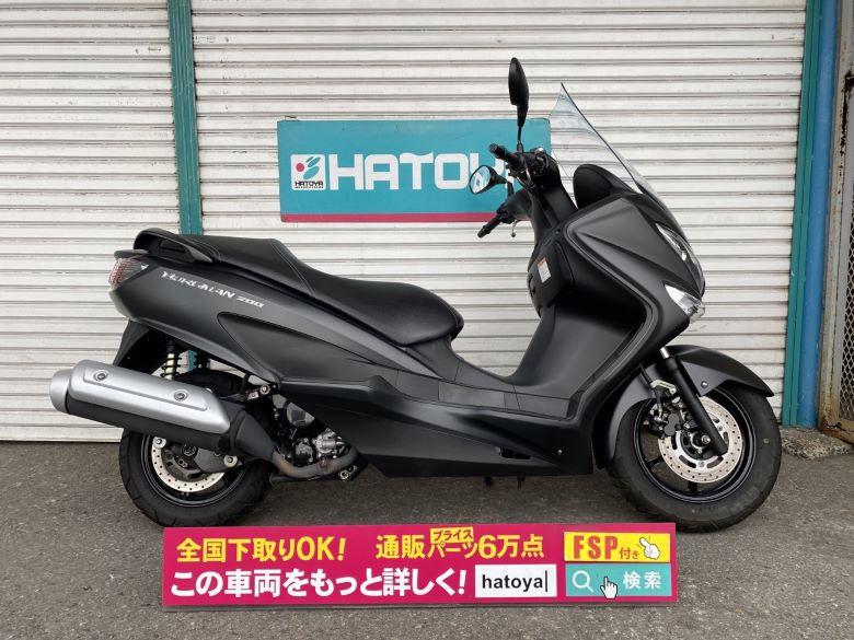 中古 スズキ バ-グマン200