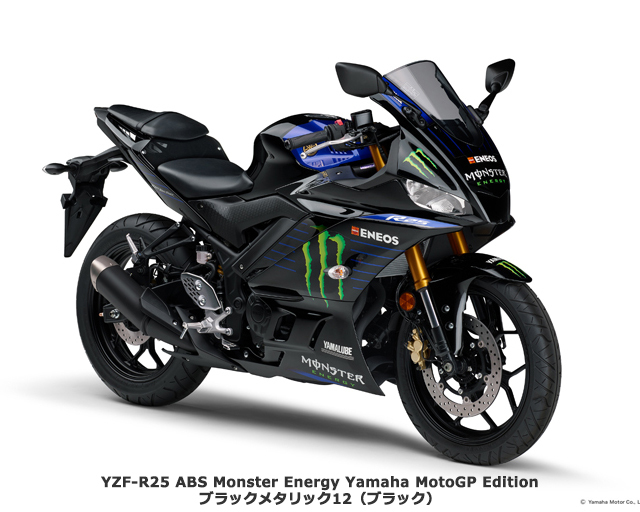 2020 YAMAHA YZF-R25 Monster Energy Yamaha MotoGP Edition
