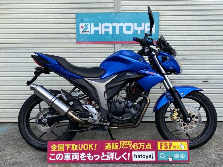 中古 スズキ GIXXER 150