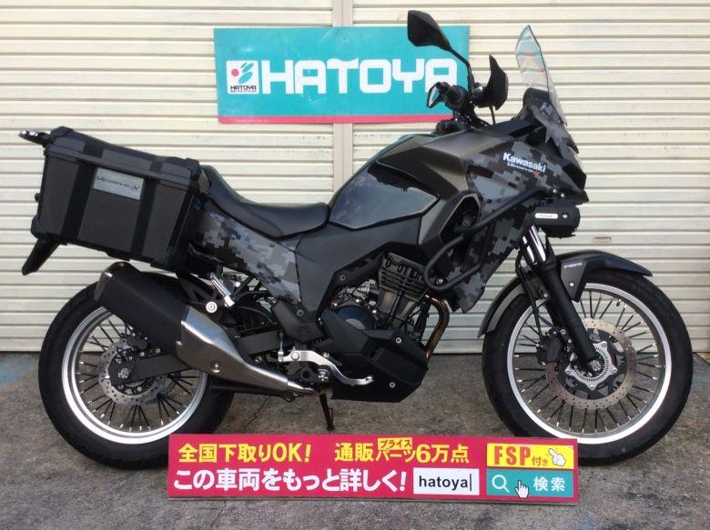 中古 カワサキ VERSYS-X 250 ツアラ-