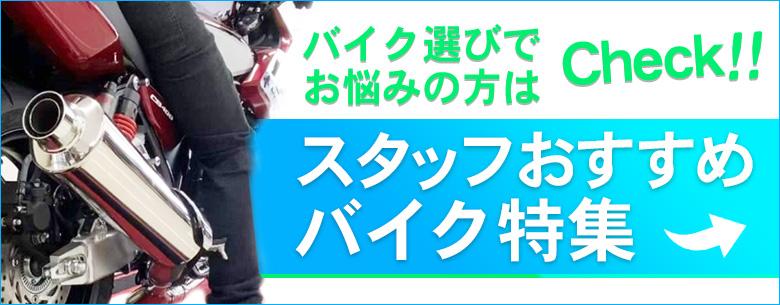 HATOYAスタッフおすすめバイク特集!